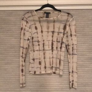 Kenneth Cole sheer blouse!